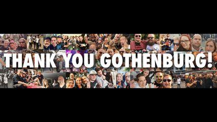 Thank You, Gothenburg!