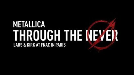 Lars & Kirk at FNAC in Paris