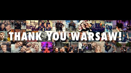 Thank You, Warsaw!