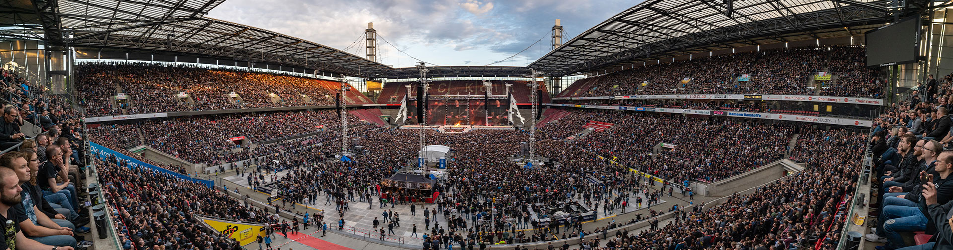 Metallica at RheinEnergieStadion in Cologne, Germany on June