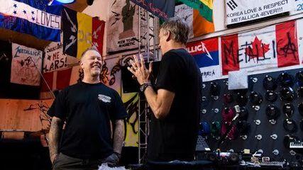 James Hetfield of Metallica Talks X Games Austin