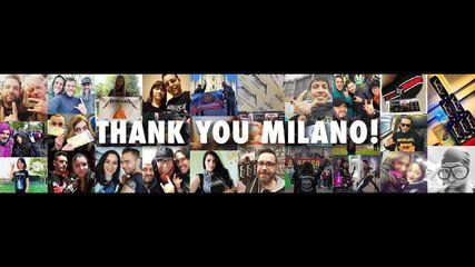 Thank You, Milan!