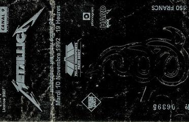 Tour Memorabilia (1992)