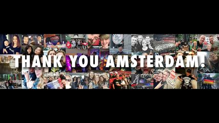 Thank You, Amsterdam!