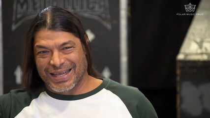 Polar Music Prize interview with Robert Trujillo of Metallica