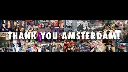 Thank You, Amsterdam!