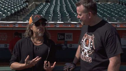 Sean Casey Interviews Kirk Hammett at Metallica Day