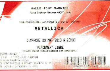 Tour Memorabilia (2010)