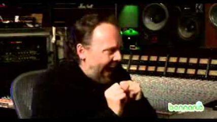 Bonnaroo Interviews Lars Ulrich (2008)