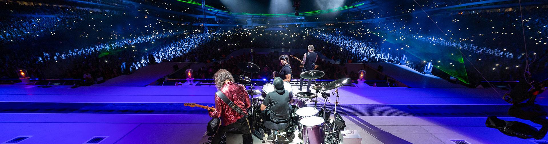 Metallica at Ullevi in Gothenburg, Sweden on July 9, 2019