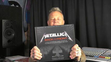 """James Announces """"Metallica: Back to the Front"""" Book"""