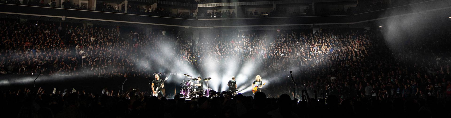 Metallica at Golden 1 Center in Sacramento, California