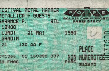 Tour Memorabilia (1990)