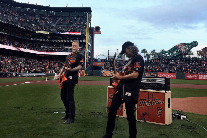 Metallica Night with the San Francisco Giants