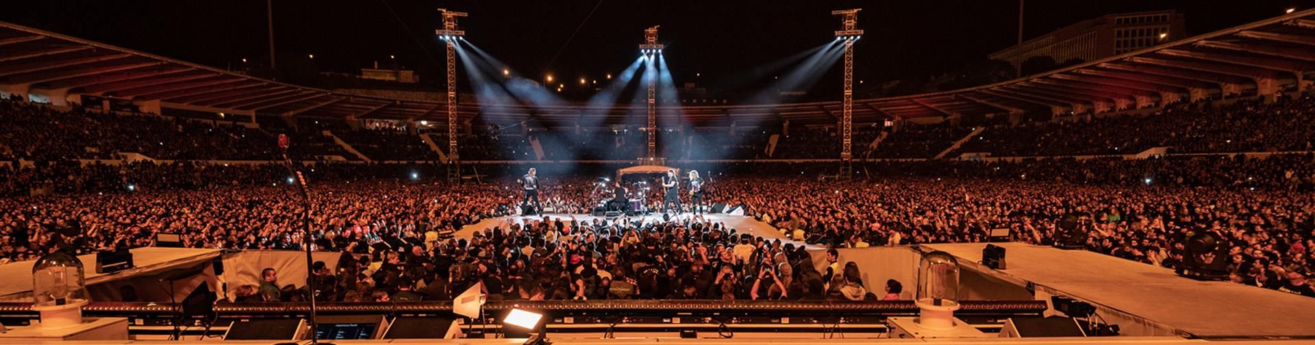 Metallica at Estádio do Restelo in Lisbon, Portugal on May 1