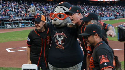 The Fifth Annual Metallica Night with the San Francisco Giants