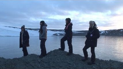 Metallica Arrives in Antarctica