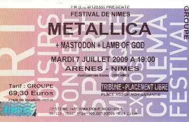 Tour Memorabilia (2009)