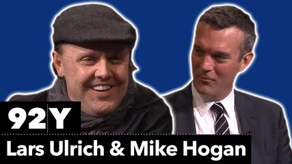 Metallica Co-Founder Lars Ulrich in Conversation with Mike Hogan
