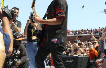 Metallica Day with the SF Giants - May 2, 2015