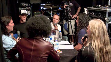 Metallica Interviews Alice in Chains