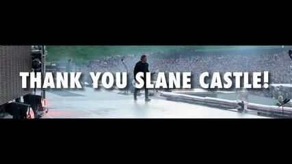 Thank You, Slane Castle!