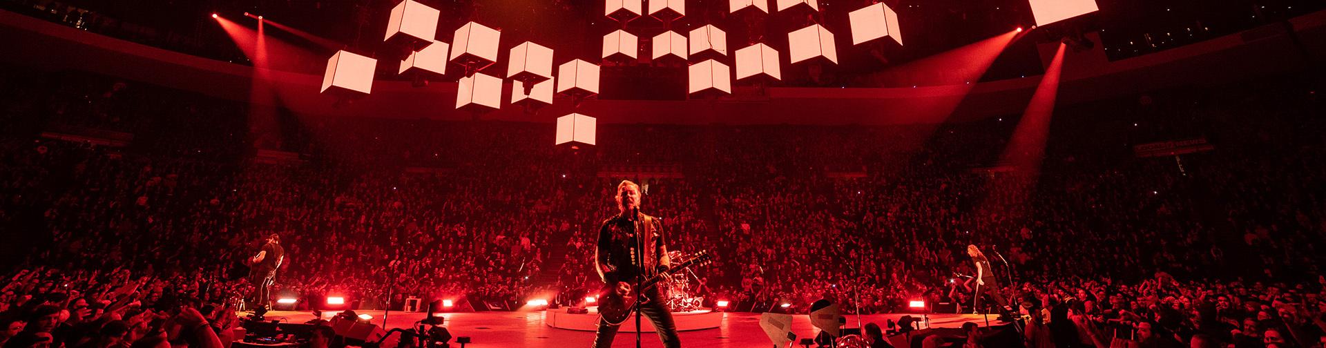 Metallica at U S  Bank Arena in Cincinnati, Ohio, United