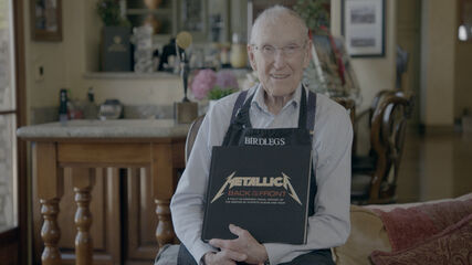 """Ray Burton Receives His Copy of """"Metallica: Back to the Front"""""""