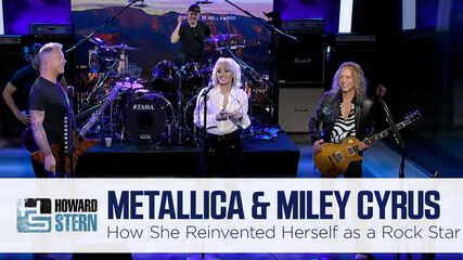 What Elton John Told Miley Cyrus About Becoming a Rock Singer (The Howard Stern Show - September 9, 2021)
