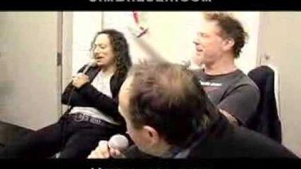 Jim Breuer Interviews Metallica