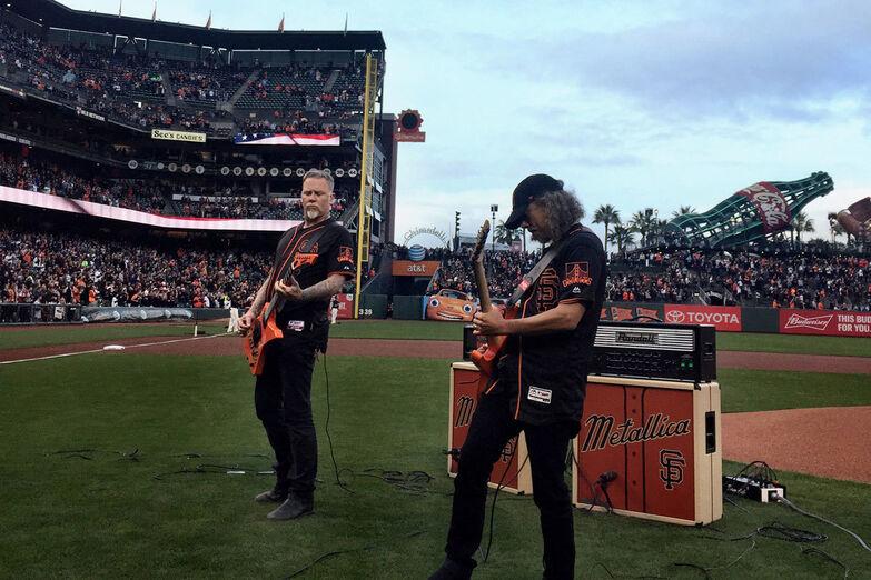 Metallica Night with the San Francisco Giants