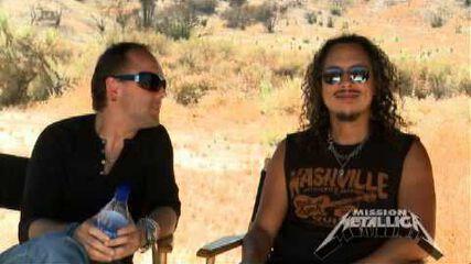 """Lars & Kirk on """"The Judas Kiss"""""""