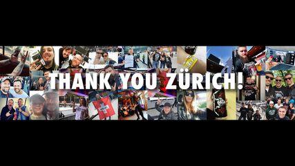 Thank You, Zürich!