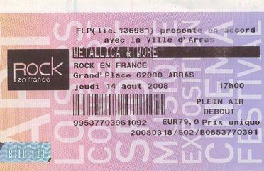 Tour Memorabilia (2008)