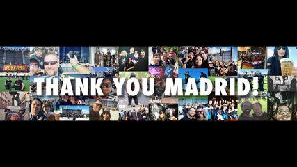 Thank You, Madrid!