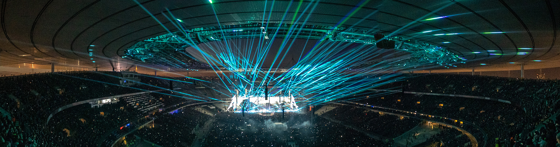 Metallica at Stade de France in Paris, France on May 12, 2019