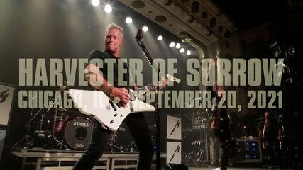 Harvester of Sorrow (Chicago, IL - September 20, 2021)