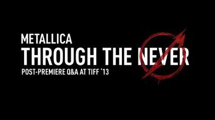 Post-Premiere Q&A at TIFF '13