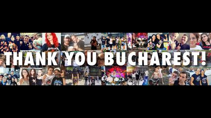 Thank You, Bucharest!