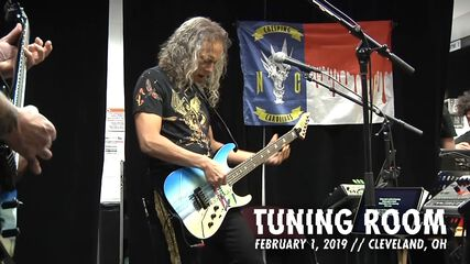 Tuning Room (Cleveland, OH - February 1, 2019)