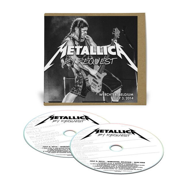 Live Metallica: Werchter, Belgium - July 3, 2014 (2CD), , hi-res
