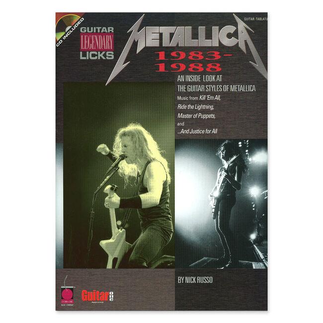 Legendary Guitar Licks 1983-88 - Guitar Tablature Book (w/ Online Audio), , hi-res