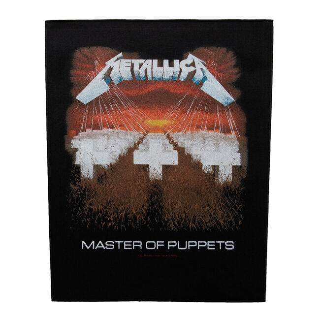 Master of Puppets Back Patch, , hi-res