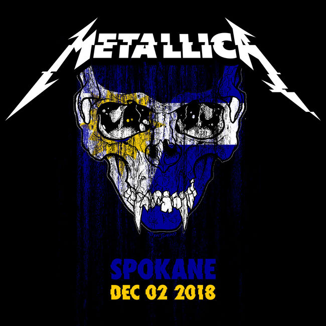 Live Metallica: Spokane, WA - December 2, 2018, , hi-res