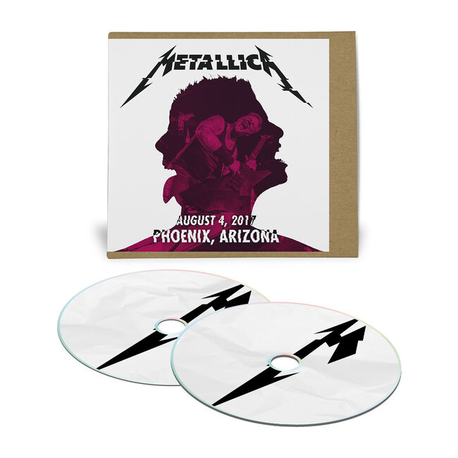 Live Metallica: Phoenix, AZ – August 4, 2017 (2CD), , hi-res