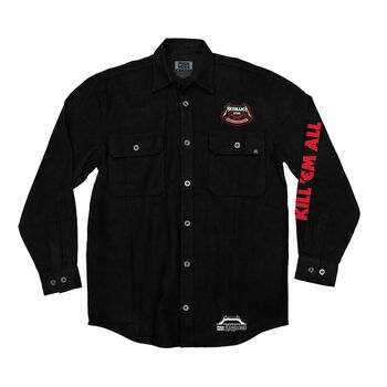 Puck Hcky x Metallica Kill 'Em All Flannel, , hi-res