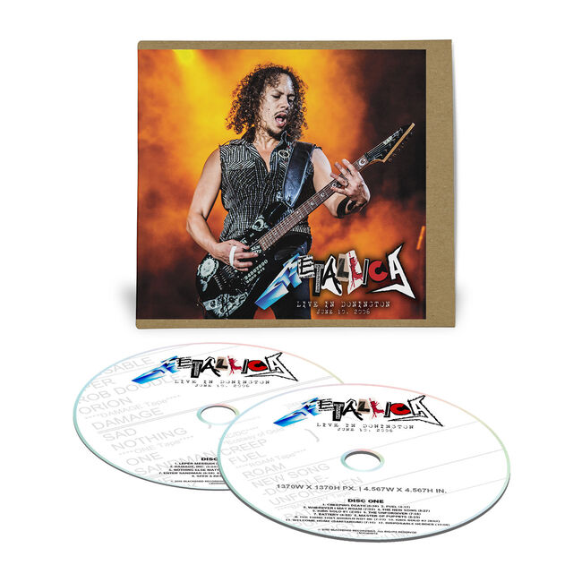Live Metallica: Donington, England - June 10, 2006 (2CD), , hi-res