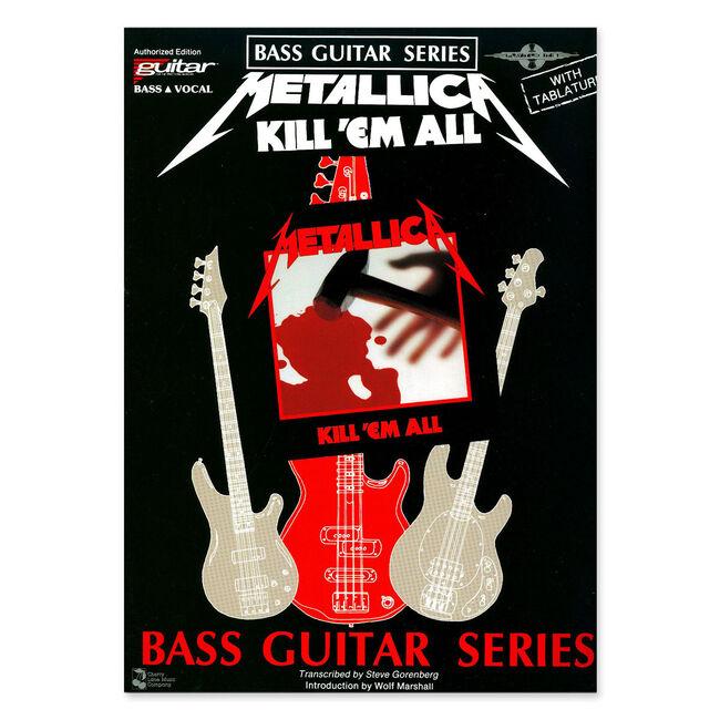 Kill 'Em All - Bass Guitar Tablature Book, , hi-res
