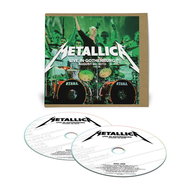 Live Metallica: Gothenburg, Sweden - August 22, 2015 (2CD), , hi-res