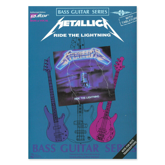Ride the Lightning - Bass Guitar Tablature Book, , hi-res
